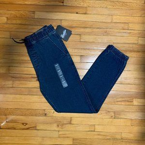 Brooklyn cloth boys denim jogger pants